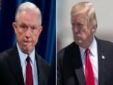 President Trump Calls Jeff Sessions 'beleaguered' In Tweet