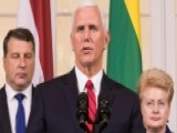 Pence Talks Tough On Russia In Speech To NATO Troops