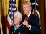 President Trump Honors James McCloughan 00004000 With Medal Of Honor