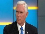 Pence Talks Graham-Cassidy Bill, North Korea, Travel Ban