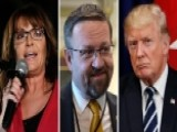 Palin, Gorka Stand Opposite Of Trump In Ala. Senate Race