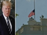 President Trump Orders Flags To Be Lowered To Half-staff