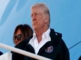 President Trump Defends Federal Response In Puerto Rico