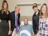 President And First Lady Meet Victims Of The Vegas Shooting