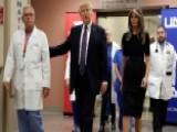 President Trump Gets High Marks For Las Vegas Visit