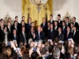 President Trump Welcomes Pittsburgh Penguins To White House
