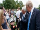 President Trump Meets Gold Star Family At Arlington