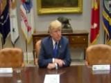 President Trump Slams No-show Schumer, Pelosi