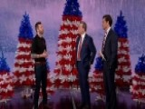 Patriotic Pine Trees Honor Troops Over Holidays