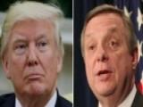 President Trump Fires Back At Senator Dick Durbin