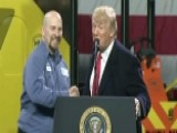 Pa. Worker Reacts To Being Brought Onstage By Trump