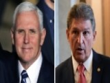Pence, Manchin Square Off In Twitter Battle Over Tax Vote