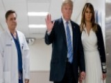 President Trump, First Lady Visit School Shooting Victims