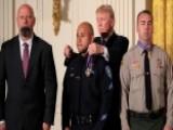 President Trump Honors San Bernardino First Responders