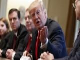 President Trump Defends Tariffs On Steel, Aluminum Imports
