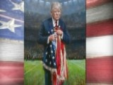 Painting Tackles NFL Protest Controversy