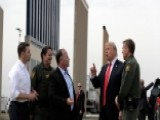President Trump Inspects Prototypes For New Border Wall