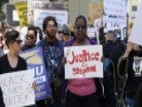 Protests Over Fatal Shooting Of Unarmed Black Man