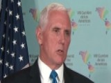 Pence: Syria Knows It Will Pay If Chemical Weapons Are Used