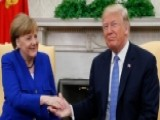 President Trump Welcomes Chancellor Merkel To White House
