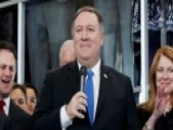 Pompeo Promises To Help State Department Get Swagger Back