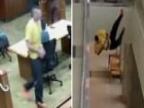 Prisoner Leaps Over Railing In Brazen Attempt To Escape