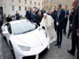Pope Francis-blessed Lamborghini Auctioned For $950,000