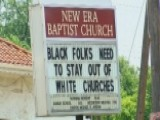Pastor Under Fire Over Controversial Sign