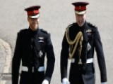Prince Harry, Prince William Arrive At St. George's Chapel