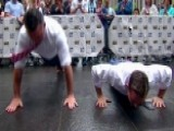 Pushup Contest Rematch: Pete Hegseth Vs. Adam Klotz