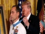 President Trump Awards Medal Of Honor To Navy SEAL
