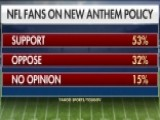 Poll Shows Support Among NFL Fans For New Anthem Policy