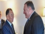 Pompeo Shakes Hands With Kim Yong Chol