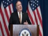 Pompeo Says North Korea Will Deliver Letter To Trump