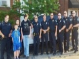 Police Attend Autistic Teen's Birthday Party