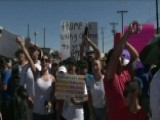 Protesters March To Border Migrant Facility