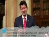 Paul Ryan Reads 'mean Tweets'