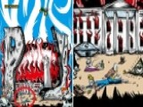 Pearl Jam Poster Depicts Trump's Corpse, Burning White House