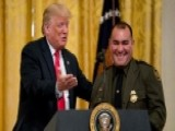 President Trump Honors Border Agents As Heroes