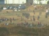 Palestinians Protest Along Israel-Gaza Border