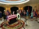 People Pay Respects To McCain In Arizona