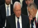 Protesters Interrupt Sen. Orrin Hatch's Opening Statement