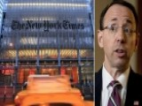 Politics Of The New York Times' Rod Rosenstein Report