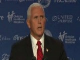 Pence Voices Support For Brett Kavanaugh At Summit