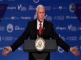 Pence Warns Of Election Interference From China