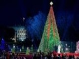 President Trump, First Lady Light National Christmas Tree