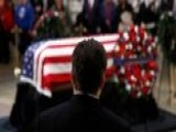Public Pays Tribute To George H.W. Bush In Washington, DC