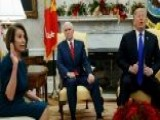 Pelosi Challenges Trump On Wall, House GOP Hits Back