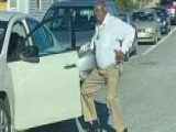 Police Officer Comes Out Of Car And Dances During Backed-up Rush Hour Traffic