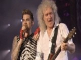 Queen Reunites With 'American Idol' Alum Adam Lambert